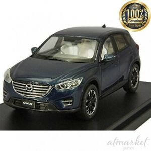 Hi-Story-HS136DB-Mini-Car-1-43-Mazda-CX-5-2015-Deep-Crystal-Blue-Mica-Completed