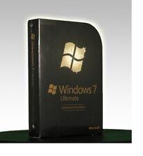 Microsoft Windows 7 Ultimate Commemorative Edition (Rare Collector; Retail Box)