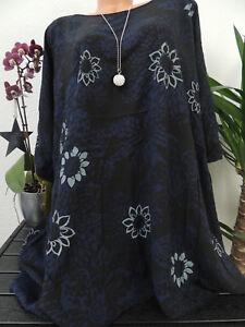 Kundschaft zuerst achten Sie auf gutes Angebot Details zu Damen Bluse Größe 56 58 60 62 Übergröße Blumen Top Tunika Blusen  T Shirt 43