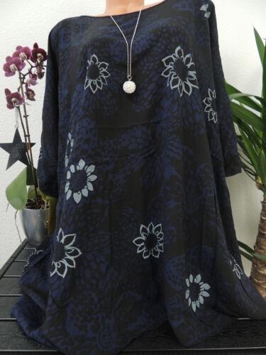 Blusa señora tamaño 56 58 60 62 sobre tamaño flores top túnica blusas t shirt 43
