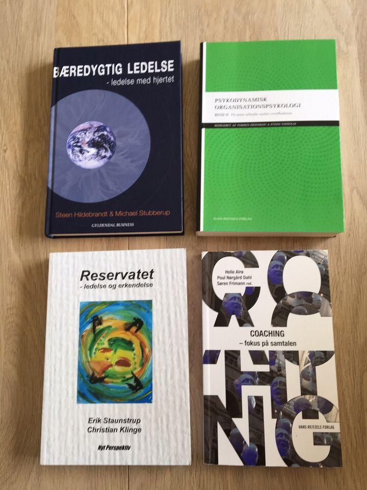 Bøger til diplom i ledelse studie, Forskellige , emne: