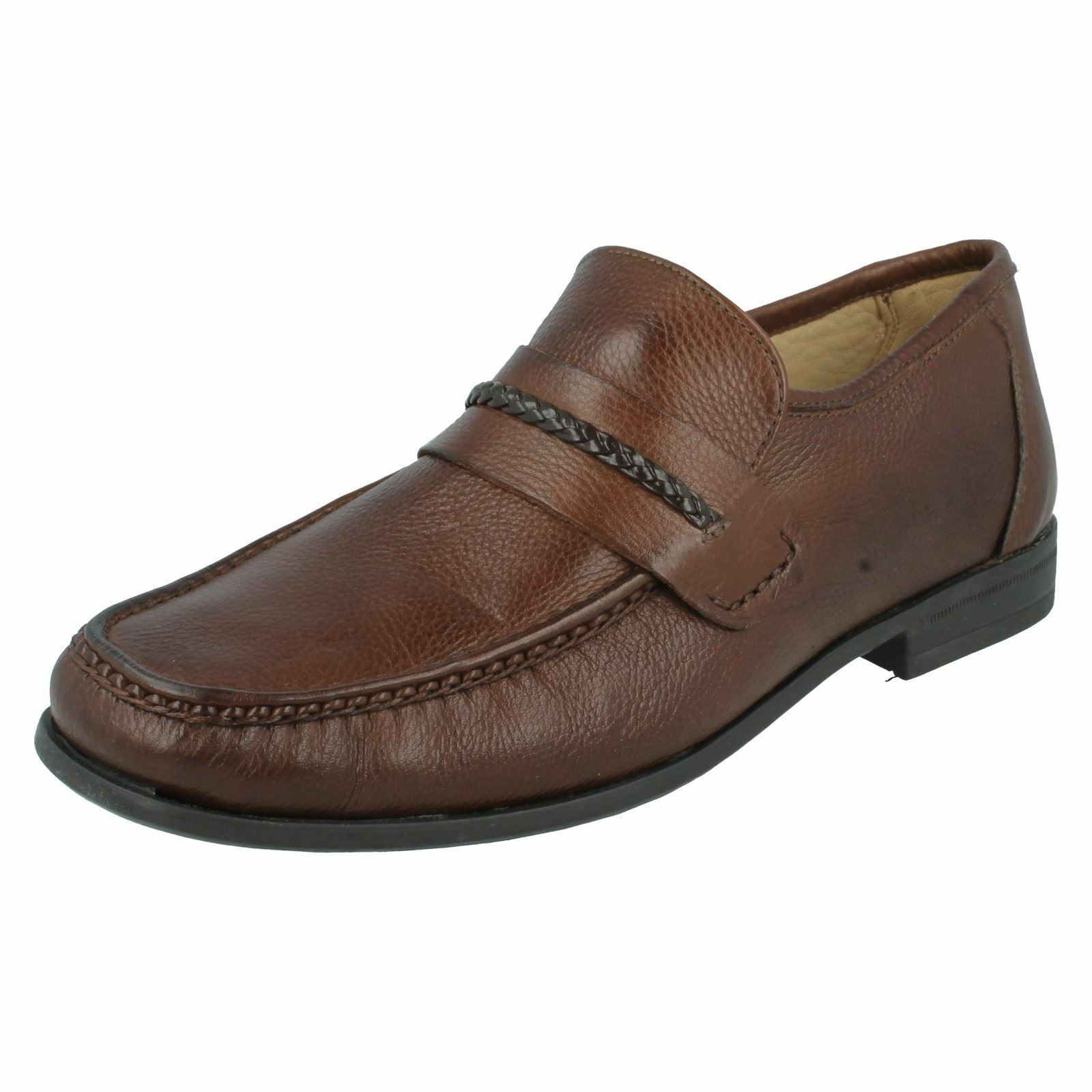 Mens GASPAR Braun slip on schuhe by Anatomic & co £100.00