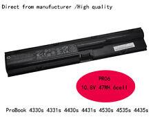 Genuine original HP PR06 battery ProBook 4330s 4331s 4430s 4431s 4435s 4530s OEM