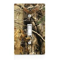 Real Tree Camo Wall Plate Toggle Decor Switch Plate Cover