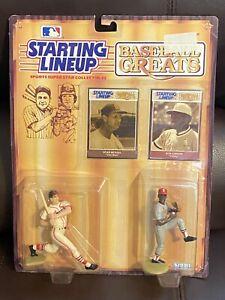 Stan Musial & Bob Gibson - Starting Lineup Baseball Greats Kenner 1989
