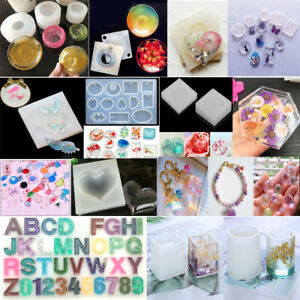 Pendant Silicone Mould Mold Making Jewelry Resin Necklace Craft DIY Tool Latest