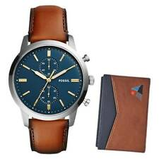 Fossil Townsman Mens Watch and Wallet Set FS5392SET