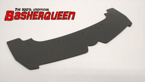 Basherqueen Carbon Front Splitter Arrma Limitless 6S BLX Roller COUNTERSUNK