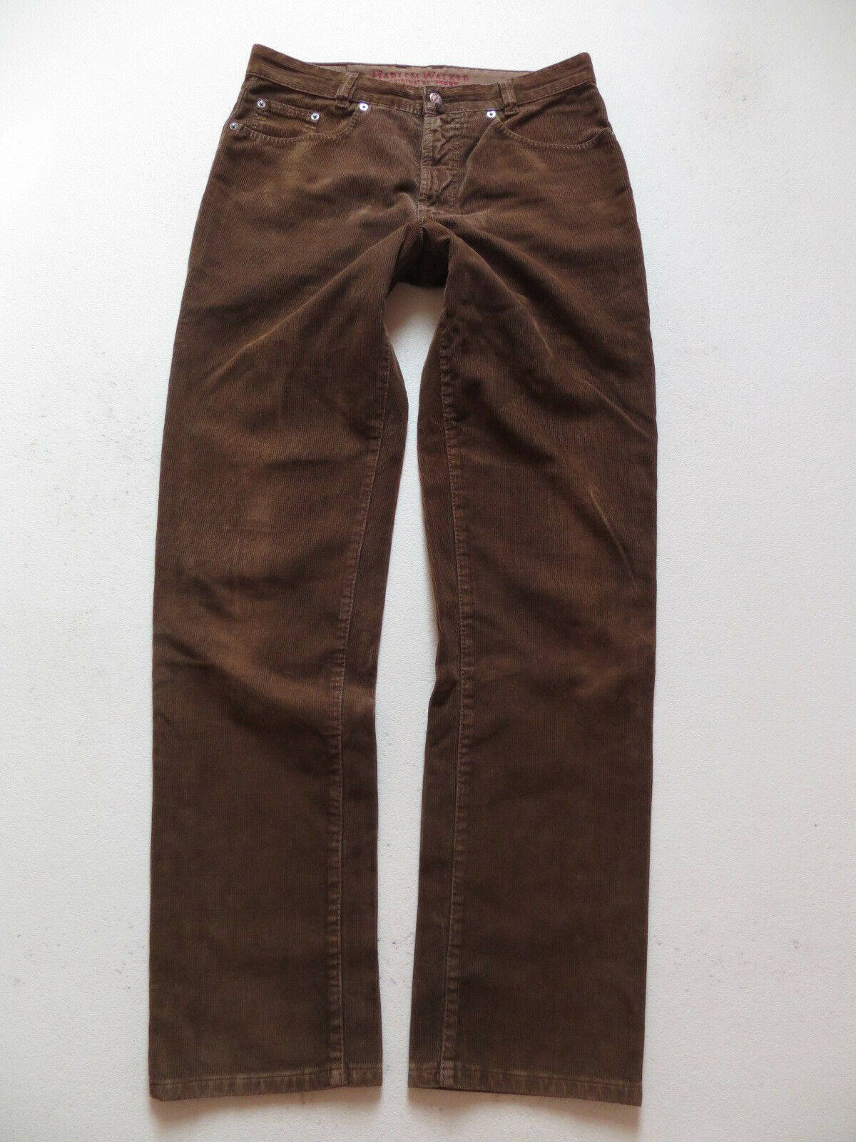JOKER Jeans Hose, Harlem Walker Cordhose, W 34  L 36, brown, Sehr robust, LANG