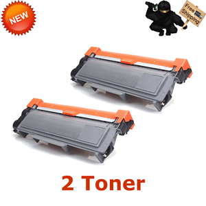 2PACK-Black-TN660-Toner-Cartridge-TN660-TN630-For-Brother-HL2380DW-MFCL2700DW