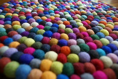 SALE! FELT BALLS 2cm x 1000 pieces ->CHOOSE YOUR OWN COLORS from ALL