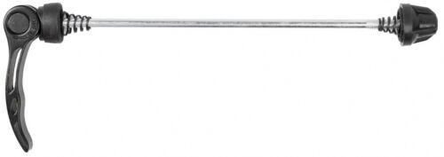 ATTACHE BLOCAGE RAPIDE NOIR 100-110mm ROUE VELO MOYEU JANTE VTT VTC ROUTE VILLE