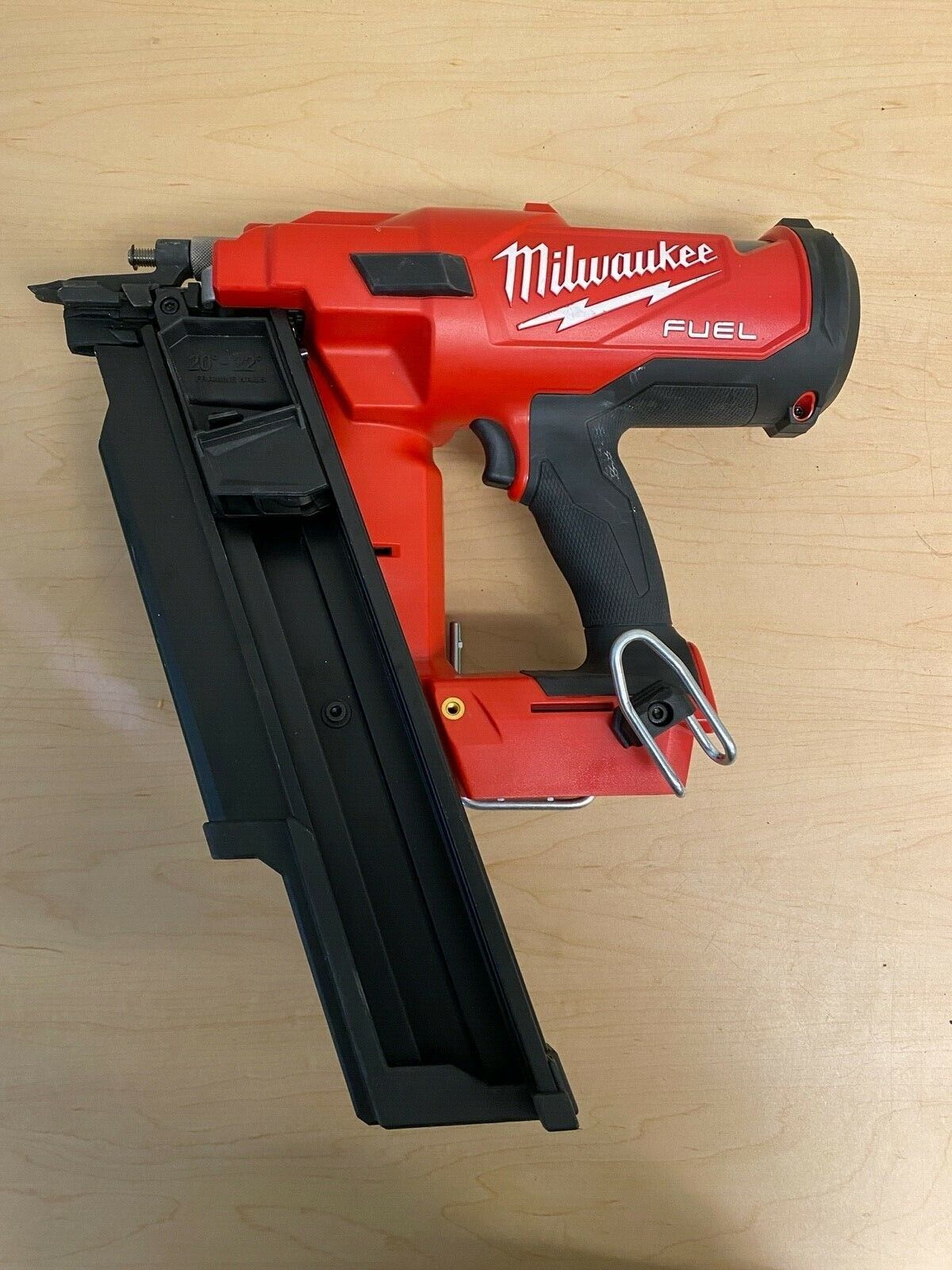Milwaukee 2744-20 M18 FUEL 21 Degree Cordless Framing Nailer (Tool Only). Buy it now for 289.99