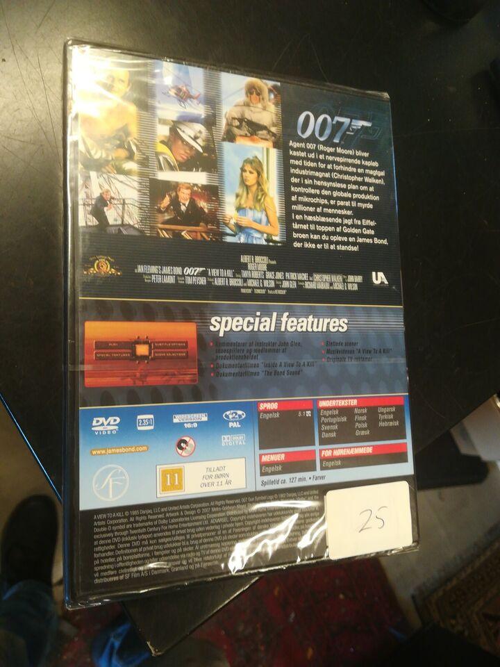 James Bond 007 i skudlinjen, a view to a kill, DVD