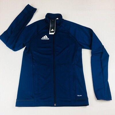 adidas Men/'s TIRO 17 Full-Zip Training Jacket with Thumb hole BQ8196 size 3XL