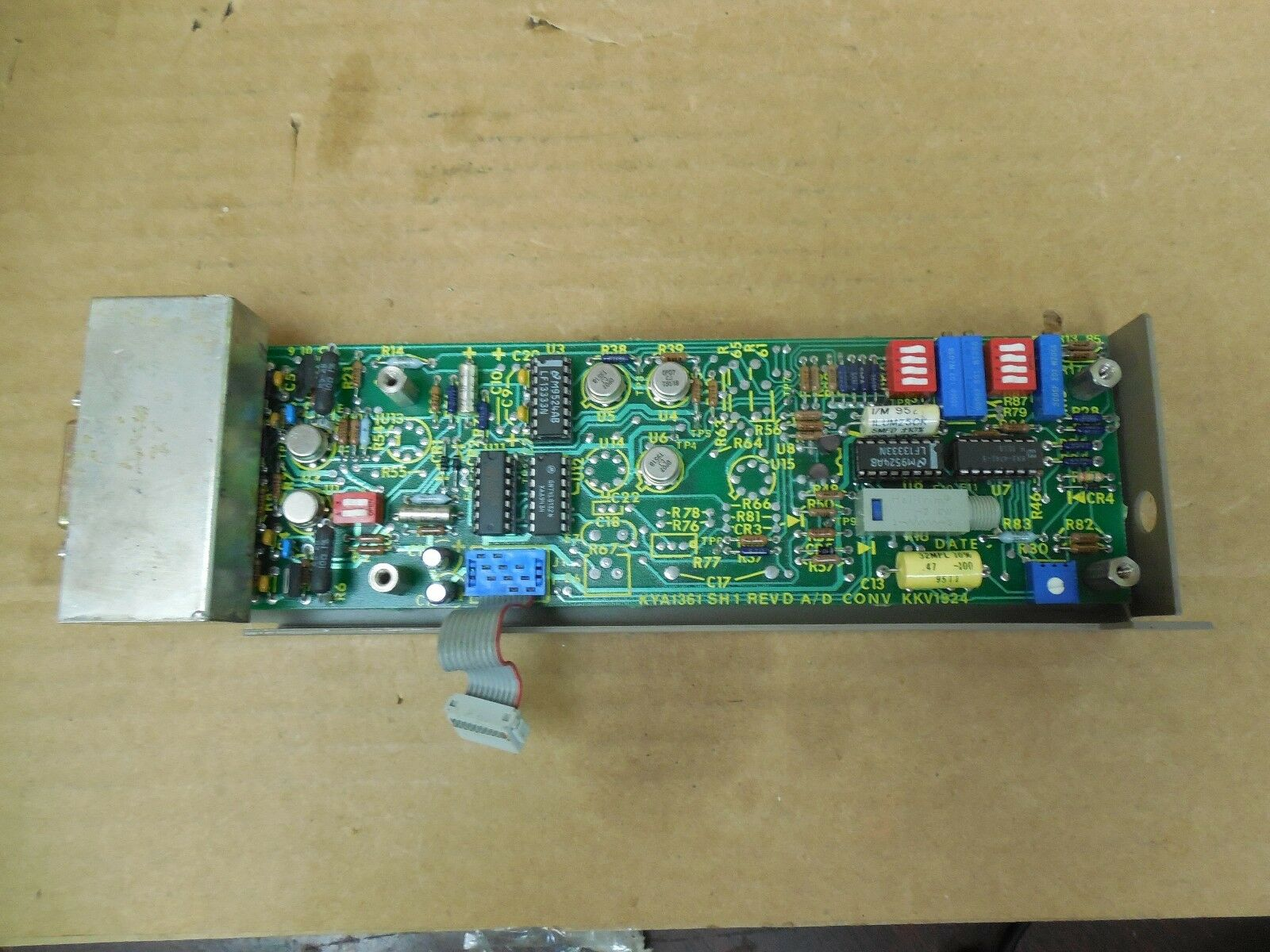 No Name A D Conversion Board KYA1361 Rev D Used