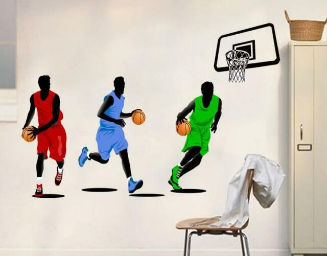 Basketball game home Decor Removable Wall Sticker/Decal/Decoration