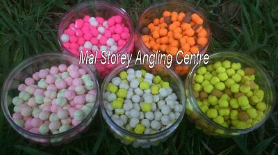 6mm White Toffee Samurai Baits Wafter Dumble