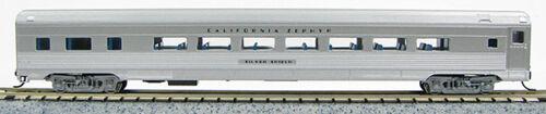 Silver 1-041412 N Budd Passenger Parlor Car California Zephyr