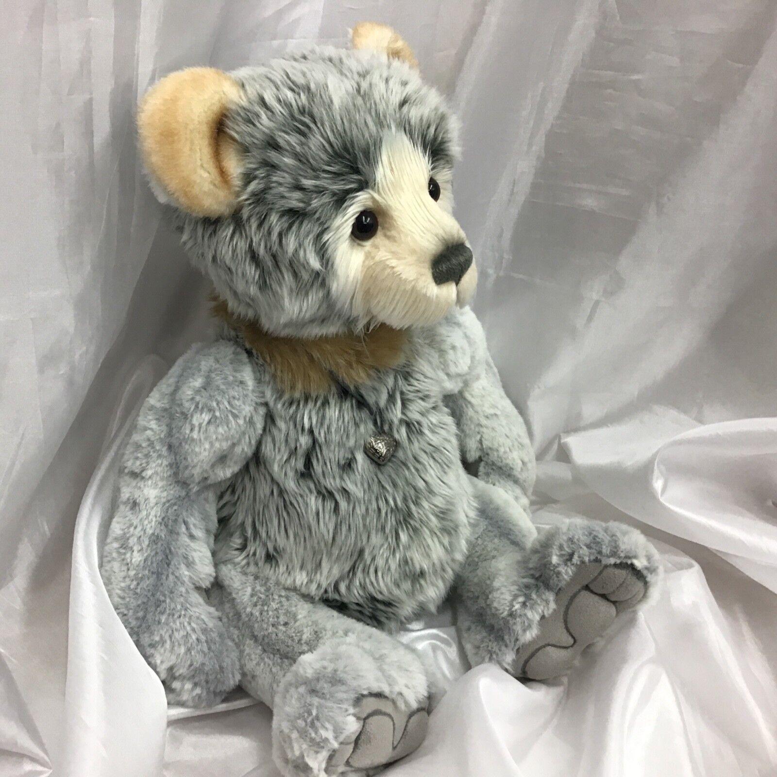 Charlie Bears MILES 13.5 in Peluche Orso SNODATO appena arrivato in magazzino Adorabile C