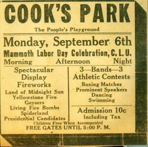 Advertising-Cook-039-s-Park-Evansville-Fireworks-Boxing-Matches-Bands-Labor-Day-1920