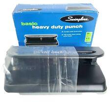 Swingline Basic Heavy Duty Punch 24 Sheet 2 3 Holes Model 74150