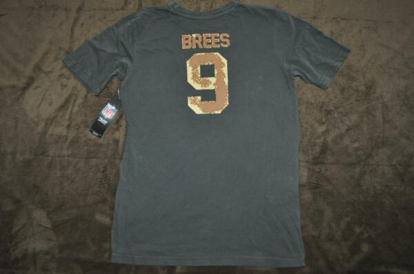 New Orleans Saints Drew Brees  9 Youth Boys T-Shirt Camo Print See Sizes NWT f6754c3e6