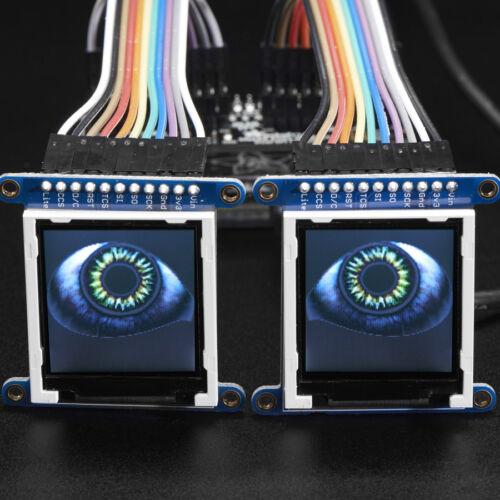Pi Zero W Adafruit Animated Eyes Bonnet für Raspberry Pi 2//3 ohne Display,3356