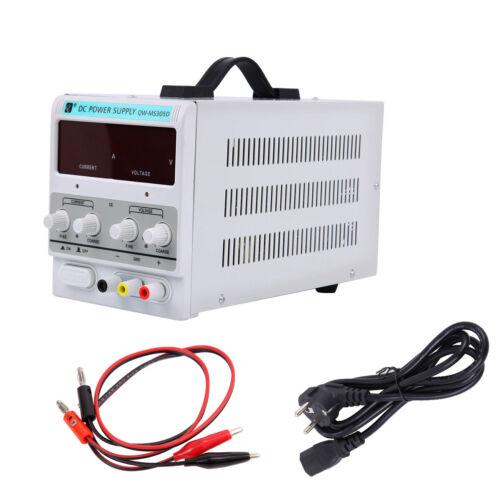 0-30V 5A DC Regelbar Labornetzgerät Netzgerät Labornetzteil Trafo Power Supply