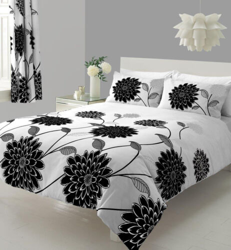 Duvet Cover with Pillow Case Quilt Cover Bedding Set Single Double King Gaveno