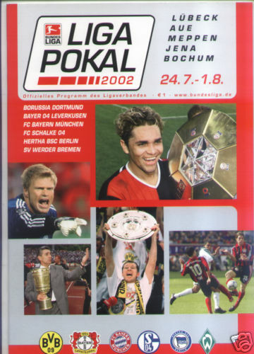LIGA-POKAL 2002 Offizielles Programm !