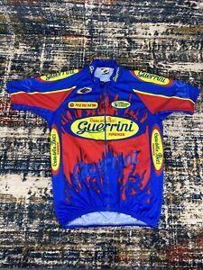 Ellegi Cycling Guerrini Firenze Jersey Made In Italy Mens Sz 5, XL Full Zip