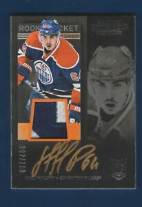 NAIL YAKUPOV RC SP 2013-14 PANINI CONTENDERS GOLD /100 no 261 AUTO PATCH  33779