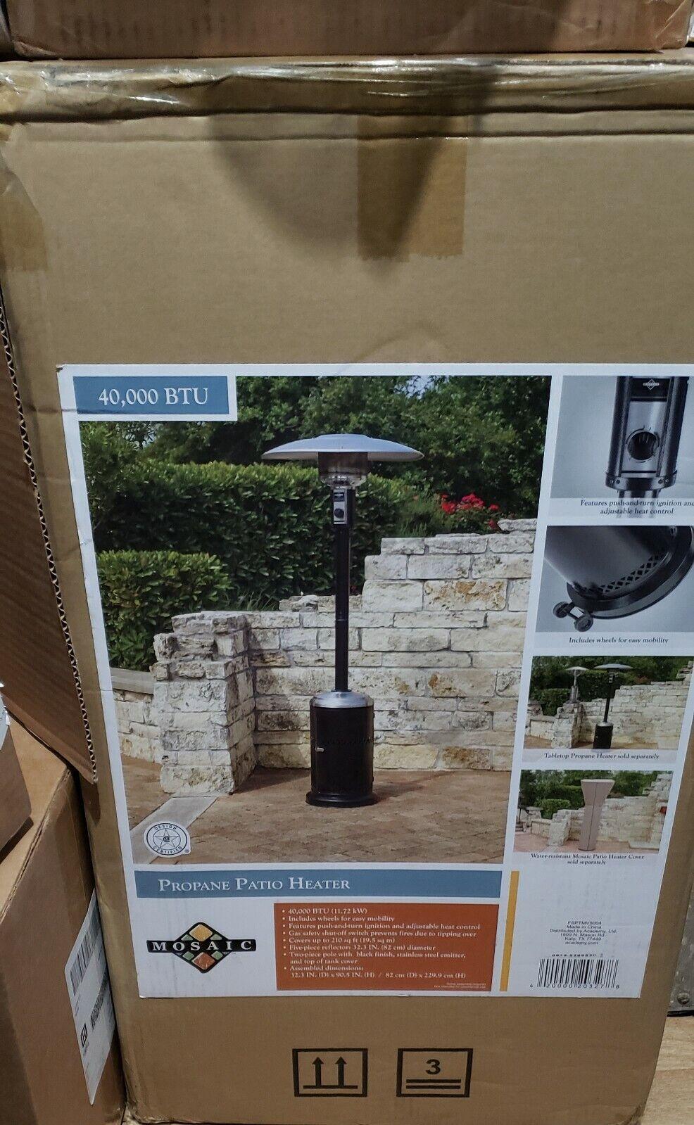 Avenlur 40,000 BTU Stainless Steel Outdoor Gas Heater