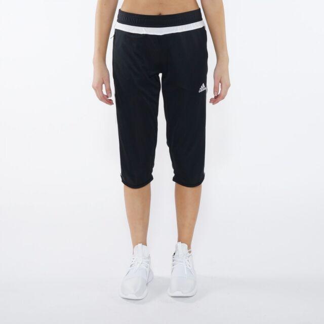 bea4c5796896 adidas Women s Tiro 15 Climacool Loose Fit 3 4 Soccer Pants Save 25 ...