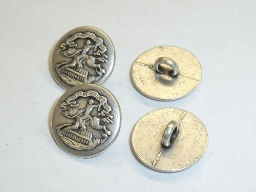 8 pieza de metal botones botón botones emblema botones 11 mm bastones mercancía nueva #952.2#