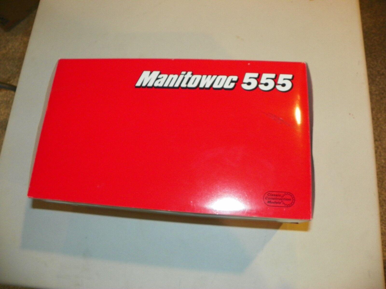 CCM Manitowoc 555 1 50 Scale Die Cast Model Lattice Boom Crane New In Box