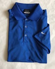 d22ae4d4 item 8 NWT Mens Nike Golf Tech Swoosh Logo Dri-Fit Mesh Polo Shirt 465802 Royal  Blue S -NWT Mens Nike Golf Tech Swoosh Logo Dri-Fit Mesh Polo Shirt 465802  ...