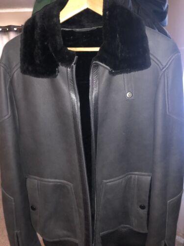 Mens Lambskin Shearling Jacket