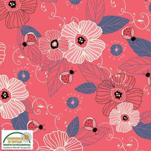 Stoff-Avalana-Jersey-Fabric-Flowers-and-Ladybirds