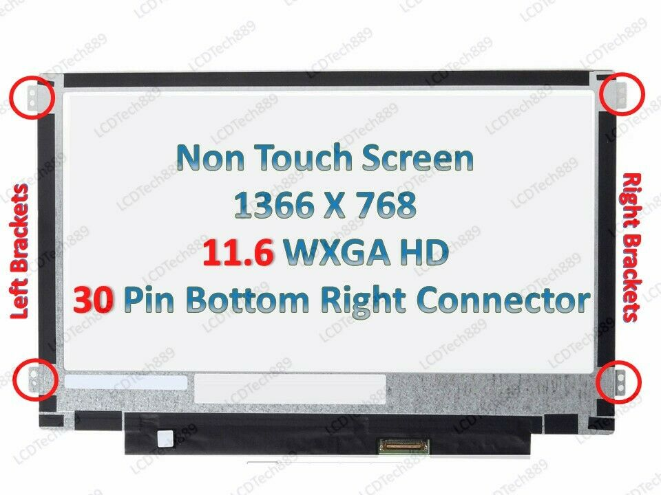 "New 11.6/"" IPS Wide Angle View LCD Replacement Screen for Lenovo N21 Chromebook"