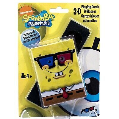 BICYCLE SPONGEBOB SQUAREPANTS PLAYING CARDS *NEW AND SEALED*