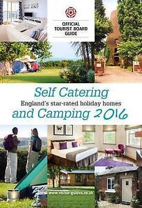 Self-Catering-amp-Camping-The-Official-Tourist-Board-Guides-2016-various-Used