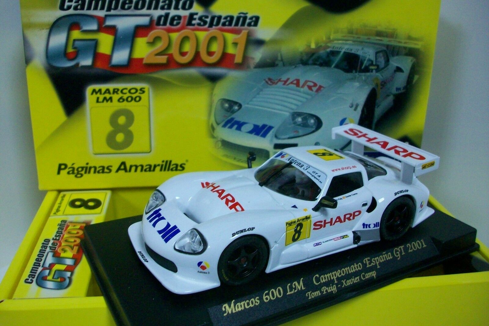 Fly Pa1   Auto Marcos Lm600, Neu   Lagerräumung   (Kompatibel Scalextric)