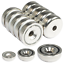 Indexbild 1 - Neodym Magnete mit Loch Bohrung Senkung Neodym-Magnet zum schrauben Scheibe Rund