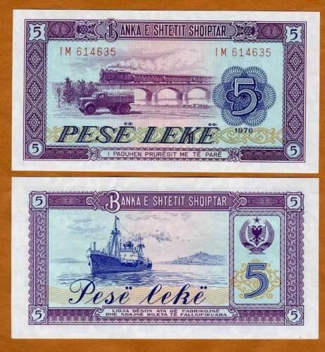 Albania 500 Leke p-72b 2015 UNC Banknote