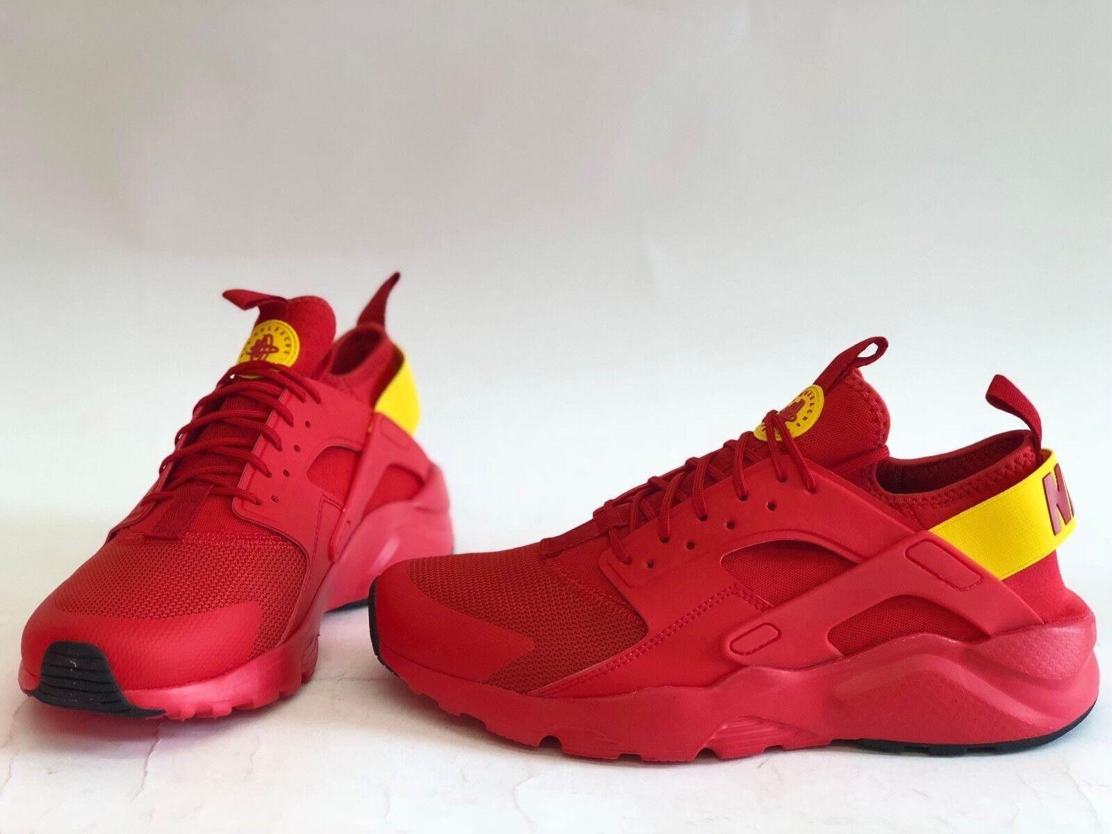 Pennino Uomo misura 8,5 nike air rosso huarache correndo ultra scarpe rosso air 819685-607 52a075