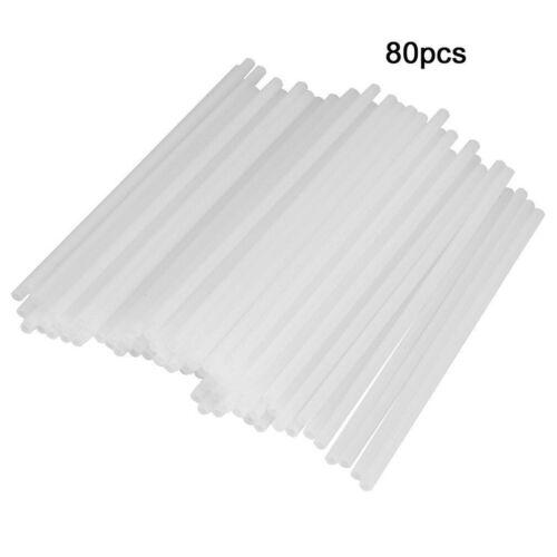 80pcs//Pack 10cm Safe Plastic Lollipop Stick Cake Pop Sticks For Chocolate Sugar