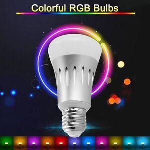 e27 rgb led wifi ir fernbedienung smart lampe licht f r echo alexa google home ebay. Black Bedroom Furniture Sets. Home Design Ideas