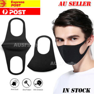 Face Mask Washable Unisex Mouth Masks Protective Reusable Syd In Stock Ebay